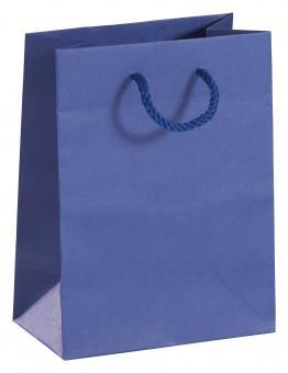 Papiertragetaschen 754 754085003200000 blau Bild 1