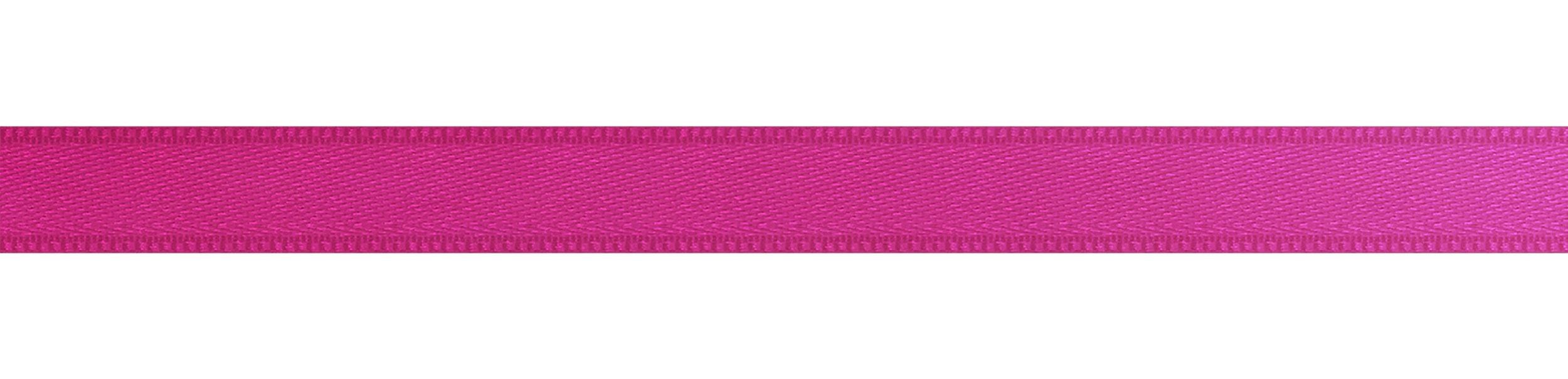 Satin Ribbon 10 Mm Without Imprint 8347 Fuchsia Dahlinger